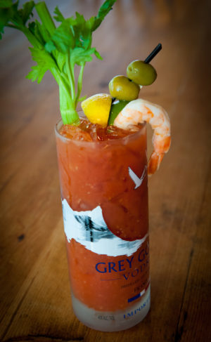 Bloody Mary - Royal River Grill Photo: Ted Axelrod